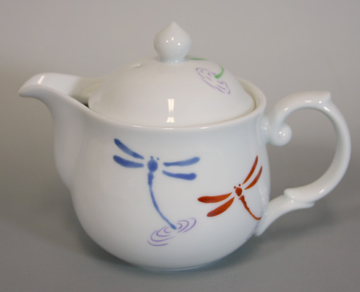 Japanese Dragonfly Teapot